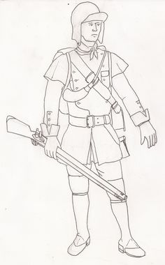 British Light Infantry SYW Seven Years' War, Ranger, 19th Century, 18th, British, Canada, Illustrations, Indian, French