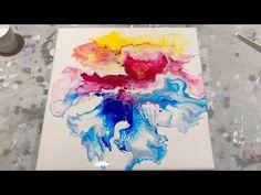 Acrylgieten is een hele leuke techniek waarbij je acrylverf verdunt en deze giet op een doek. Ik heb 10 leuke technieken voor je op een rijtje gezet. Alcohol Ink Painting, Pour Painting, Flow Arts, Fluid Acrylics, Acrylic Pouring, Acrylic Art, Resin Art, Art Techniques, Air