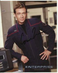 Connor Trinneer in Star Trek hand-signed 8 x 10 photo C of A @ niftywarehouse.com #NiftyWarehouse #StarTrek #Trekkie #Geek #Nerd #Products