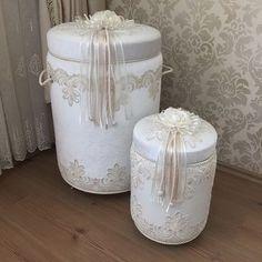 Fabric Boxes, Baby Kit, Bottle Box, Hat Boxes, Ribbon Work, Covered Boxes, Towel Set, Box Art, Laundry Basket