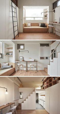 #Interior Design Haus 2018 Kleines Loft mit einem großen gestalteten Innenraum  #Neueste #Home #Hauseingang #Ideas #Home #Dekor #Homedecor #Haus #Wohnungen #interieur-design #Interior #Ideen #Burgund#Kleines #Loft #mit #einem #großen #gestalteten #Innenraum
