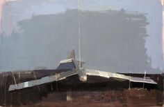 'Glider' Oil on Board by Simon Wright