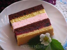 Russian Cakes, Polish Recipes, Food Cakes, Dessert Bars, Yummy Cakes, Fondant, Cake Recipes, Cheesecake, Good Food
