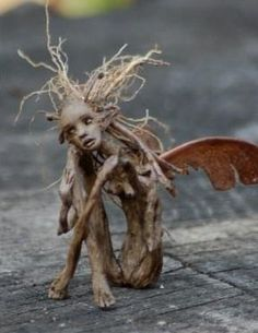 wood art - made from twigs