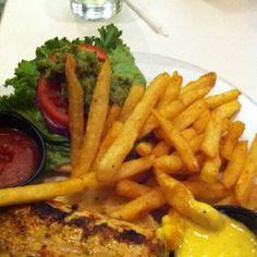 The best tuna steak sandwich we had in Vegas