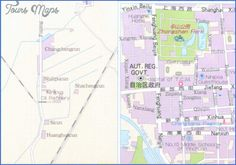cool Yinchuan Map