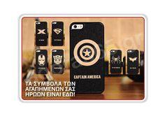 The Avengers θήκη για iPhone 5 Avengers, Iphone, Captain America, Iron Man, Iron Men, The Avengers