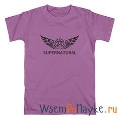 Мужская футболка Сверхъестественное купить в интернет магазине WsemPoMayke.Ru http://wsempomayke.ru/product/manshort/1073425  Доставка по России курьером или почтой, оплата при получении. Посмотреть размеры и цену > http://wsempomayke.ru/product/manshort/1073425