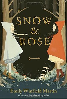 Snow & Rose by Emily Winfield Martin. Retells the traditional but little-known fairy tale Snow White and Rose Red, the story of two sisters and the enchanted woods that have been waiting for them to break a set of terrible spells. Book Cover Art, Book Cover Design, Book Art, Fantasy Magic, Fantasy Books, Story Of Snow White, Darkside Books, Snow Rose, The Snow