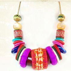 Lenora Dame- Bohemian chunky necklace