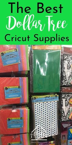 Did you know you can find products at the Dollar Tree to use for Cricut projects.Did you know you can find products at the Dollar Tree to use for Cricut projects? Here are tons of project ideas using Dollar Tree products! Dollar Tree Cricut, Dollar Tree Crafts, Dollar Tree Haul, Dollar Tree Finds, Dollar Tree Decor, Tips And Tricks, Mousse, Shilouette Cameo, Diy Kit