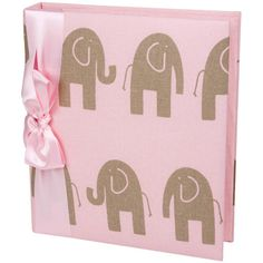 What a cute Elephant Baby Book for my baby girl Ella!! #pinsavvy