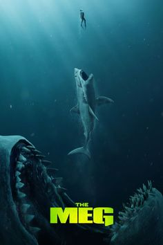 has just released the first trailer for their upcoming sci-fi/horror film The Meg, featuring Jason Statham taking on a pre-historic shark known as the Megalodon. Movie To Watch List, Movies To Watch Free, Good Movies, Tv Watch, Meg Movie, Movie Tv, Imdb Movies, 2018 Movies, Prime Movies