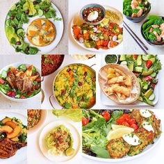 30 Vegan Lunches Because you don& need to be fully committed to being vegan, to enjoy some great food. Including vegan alternatives in your diet gives your tummy a well deserved break, and your body will feel amazing! Vegetarian Main Dishes, Vegetarian Recipes, Healthy Recipes, Healthy Menu, Healthy Snacks, Vegan Lunches, Vegan Foods, Work Lunches, Clean Eating Recipes