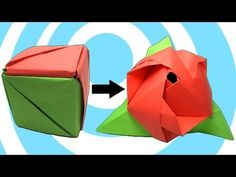 How to Make an Origami Magic Rose Cube « Origami