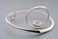 Fauni necklase and bracelet Juha Koskela design Silver www.juhakoskela.com