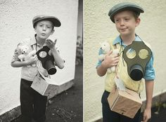 My Expat Life: The WWII Evacuee | DIY Gas Mask - A Compass Rose