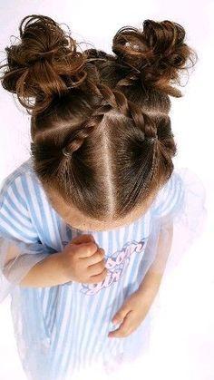kids hairstyles hairstyles 2018 hairstyles longer in front hairstyles middle part hairstyles black girl hairstyles girl hairstyles for medium hair curly hairstyles japanese curly hairstyles for work Easy Toddler Hairstyles, Easy Little Girl Hairstyles, Quick Weave Hairstyles, Kids Curly Hairstyles, Night Hairstyles, Baby Girl Hairstyles, Braided Hairstyles, 1950s Hairstyles, Hairstyles 2018
