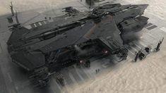 Star Citizen Reveals New Hammerhead Starship; Crowdfunding Passes 166 Million Dollars Star Citizen, Spaceship Art, Spaceship Design, Concept Ships, Concept Art, Rpg Star Wars, Starship Concept, Sci Fi Spaceships, Sci Fi Ships