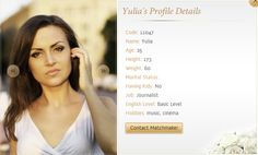 www.ukraine-matchmaker.com Genuine Russian Women for Marriage, I can help you find the women of your dreams from Ukraine. I will make sure that genuine Girls meet you not the ones who put money in the first place.
