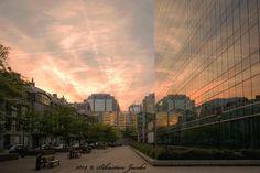 An evening at Brussels, Belgium