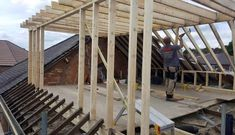 Dormer loft conversion with bi-fold doors. Leicester, Dormer Loft Conversion, L Shaped House, House Cladding, Roof Extension, Dormer Windows, Attic Bathroom, Lofts, Master Bath