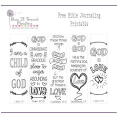 Bless It Forward Ministries - Free Printables Free Printable Bookmarks, Bookmarks Kids, Free Printables, Bible Journaling For Beginners, Art Journaling, Scripture Cards, Scripture Study, Bible Verses, Bible Bookmark