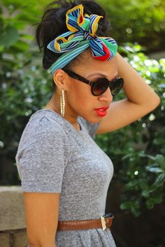 10 Ways To Style Head Scarves