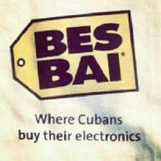Where Cubans buy their electronics. Funny Ads, The Funny, Funny Memes, Hilarious, Funny Stuff, Cuban Humor, Cubans Be Like, Inspirational Quotes, Jokes