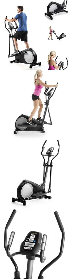 Ellipticals 72602: Elliptical Bike Trainer Exercise Fitness Machine Gym Workout Cardio Equipment BUY IT NOW ONLY: $346.75