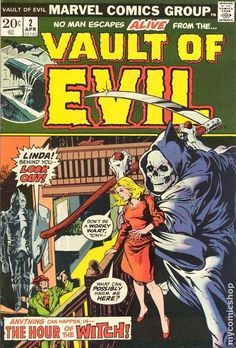 Vault of Evil (1973) comic books