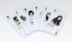 ilustrações cartas de baralho maria ruth jobim