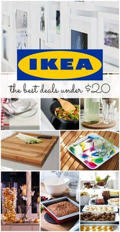 The best Ikea Deals under $20!! Try these Home Hacks for some awesome DIY Decorations!