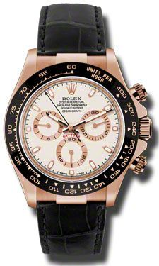 or this one?! Rolex Watches - Daytona Everose Gold - Leather Strap - Style No: 116515 LNi