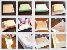 Taking Time To Create: Patchwork Headboard {Tutorial} diyartwork Diy Outdoor Furniture, Diy Furniture, Home Crafts, Diy And Crafts, Bed Headboard Design, Cushion Headboard, Dollar Tree Decor, Diy Cushion, Headboards For Beds