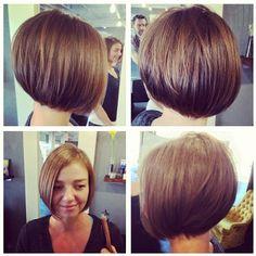 Easy Short Bob Haircut for Women and Girls