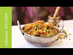 Kadai Vegetable Sabzi Recipe by Archana's Kitchen - YouTube