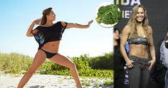 ronda rousey diet workout plan