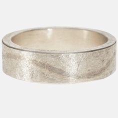 trdr357-wavy | Sterling silver band with palladium wave inlay