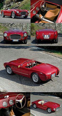 Ferrari 225S Spyder by Vignale 1952.