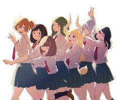 My waifu Academia Class time! My Hero Academia Shouto, Hero Academia Characters, Anime Characters, 5 Anime, Chica Anime Manga, Anime Friendship, Kendo, Hero Girl, Girl Cartoon