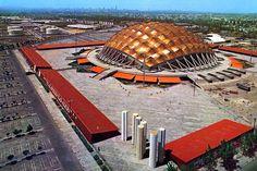 via heavywait - modern design architecture interior design home decor & México City, Old City, Felix Candela, Stadium Architecture, Travel Ads, Visit Mexico, Villa, Decoration, The Good Place