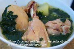 Filipino food: Tinola