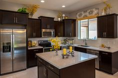The Barberry Plan at Villages at Val Vista | Phoenix, AZ - contemporary - kitchen - phoenix - Meritage Homes