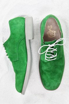 Also Blue but I'd go for GREEN - Spring Shoes for Men 2012 - Esquire