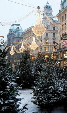 Christmas in Vienna, Austria (by Roaming Lucia on Flickr)