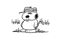Olaf is a brother of Snoopy. He made his first appearance on January 24, 1989, but was first mentioned on January 16. After the introduction of another of Snoopy's brothers, Andy, to the comic strip he and Olaf would always appear together. The two brothers often get lost looking for Spike's home. In one strip they even go right past Spike's house without noticing it. Olaf proves himself to have the most sharp-witted, wriest sense of humor out of all of Snoopy's brothers