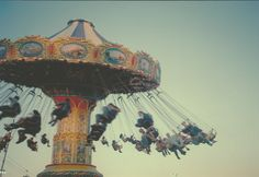"""""""Swings at the fair- I won 3rd place in my high school photography contest :)"""" beautiful!"""