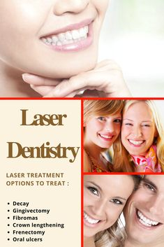 Laser dentistry is an advanced method of treatment for a variety of conditions and is safe and effective. Skowhegan Maine, Laser Dentistry, Dental Posters, Teeth Care, Dental Hygienist, Oral Health, Clinic, Medicine