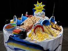 Beach themed party.
